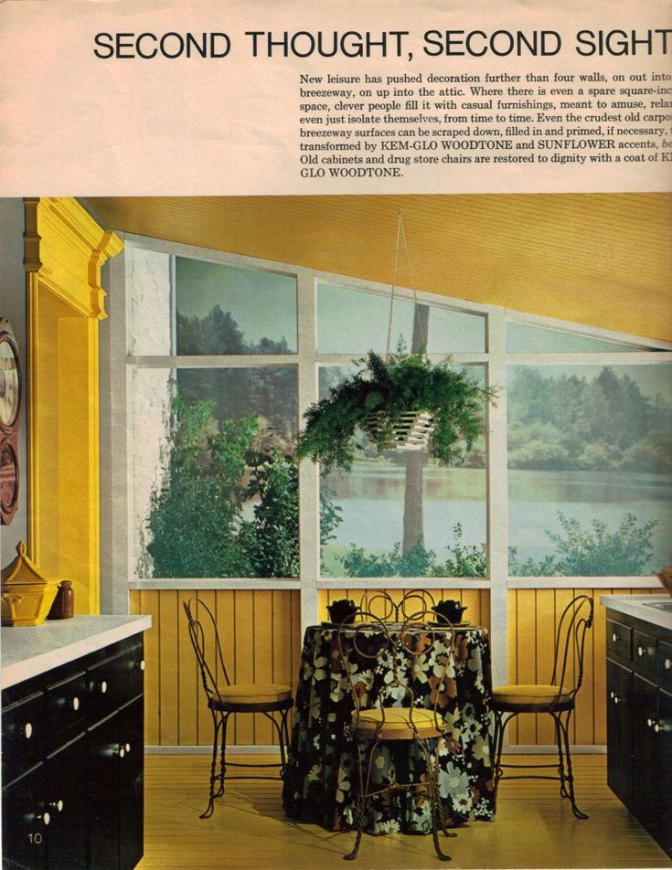 19 interior designs from 1970