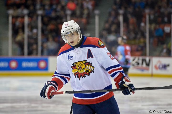 Ivan Barbashev is draft-eligible in 2014, but is he wanting to play in the NHL or KHL?