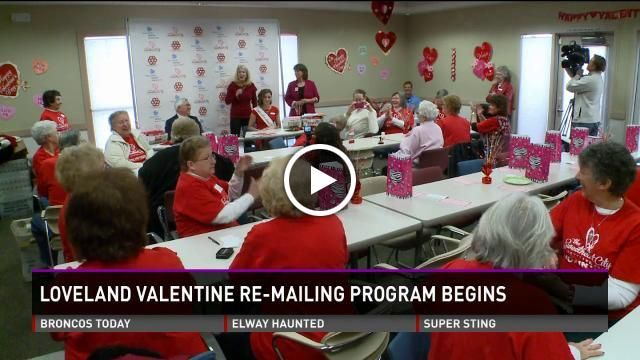 Valentine's Day: 1st day of stamping in Loveland, Colorado!!!! Video via 9 News Denver. http://www.9news.com/news/local/article/376415/222/1st-day-of-stamping-in-Loveland-Colo