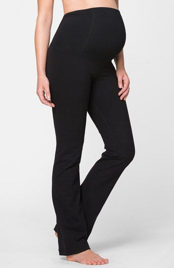 Active Maternity Pants With Crossover Panel Nordstrom