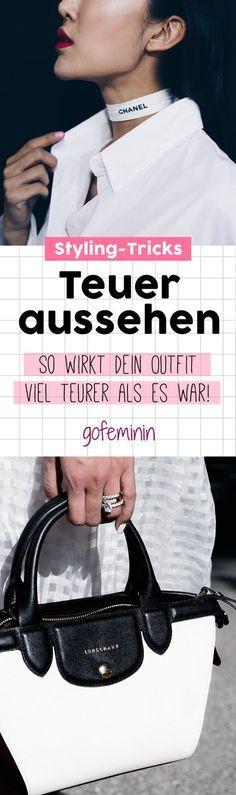 Chanel statt C&A: SO wirkt dein Outfit viel teurer als es tatsächlich war!