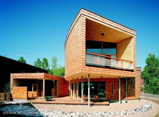 Myynnissä - Omakotitalo, Kauklahti, Espoo:   #kotilo #oikotieasunnot #designtalo