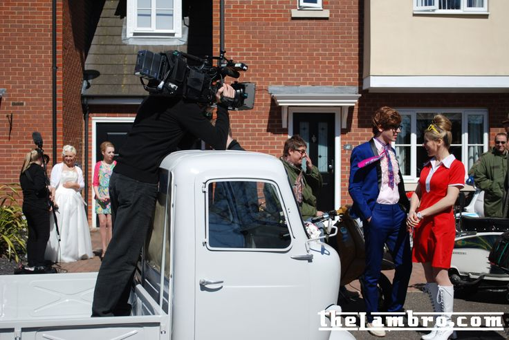 Another pic from CBBCs Marrying Mum and Dad filming 2013