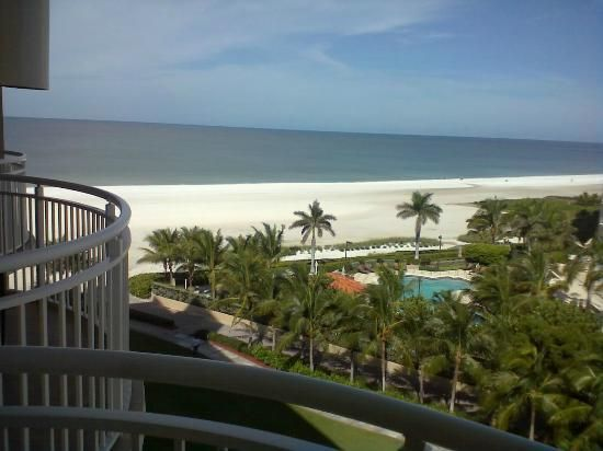 Marco Island Hotels Marriott Resort Golf Club Spa View From