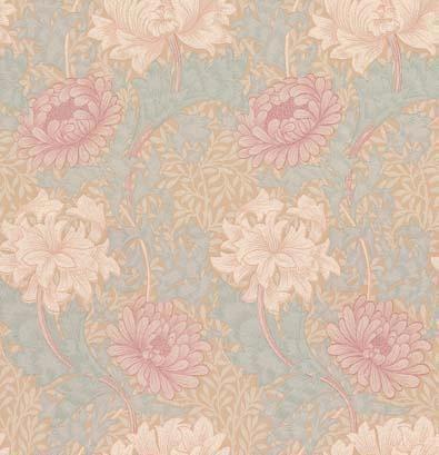 Morris Chrysanthemum Wallpaper main image
