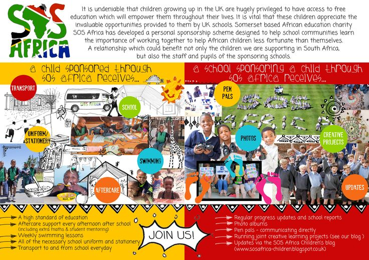 SOS Africa has a School Sponsorship Scheme to invite local schools to work with SOS Africa to create a partnership between the children.  http://www.sosafrica.com/school-sponsorship-charity-programme.htm #SchoolSponsorshipScheme #education #childrenscharity #fundraising #sponsorship