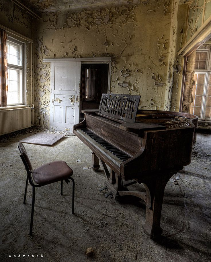 """This reminds me of a scene in the movie """"The Pianist"""" where Wladyslaw Szpilman (a Jewish pianist during WWII) sits down to play a piece for a Nazi officer in an old abandoned house in a ghetto in Poland.  He was so good, and played so well, after having been through all he'd been through, the Nazi officer helped him hide!  True story and a great movie!"""