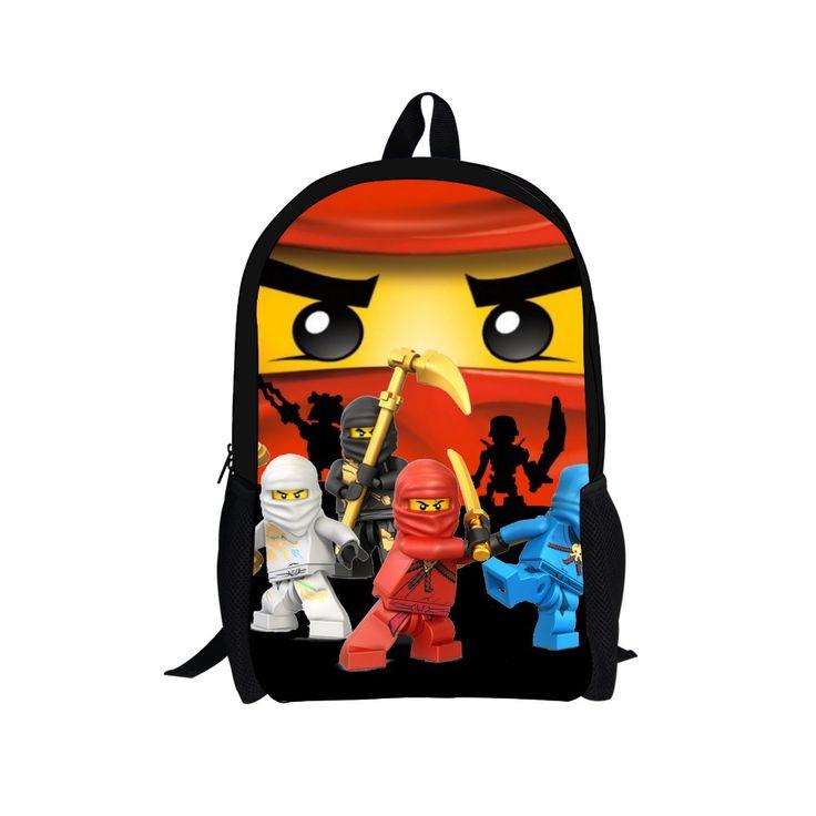 2015 hot hot koop kinderen rugzak voor jongens, mode cartoon lego rugzak, kinderen hero rugzak, student Boek verpakking mannen tas(China (Mainland))