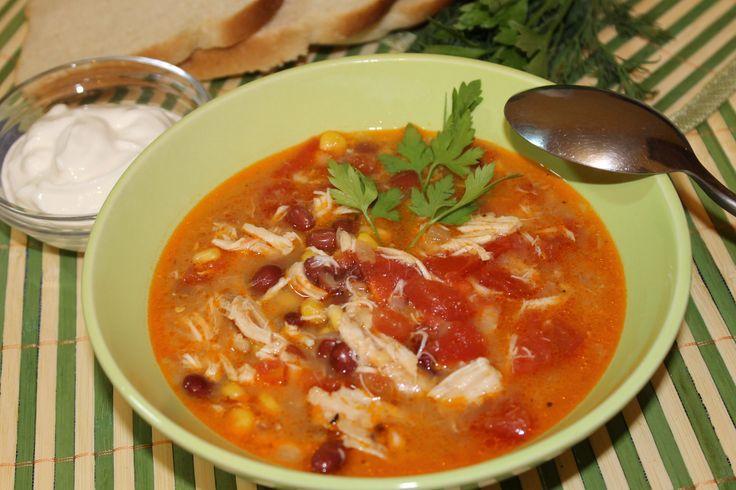 """Куриный суп """"Энчилада"""" /Chicken Soup """"Enchilada"""""""