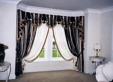 Bay Window Swags These Are Really Nice Looking Custom And Tails By Junelle I