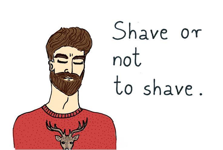 """""""Save the beard"""", print, B. Byra"""
