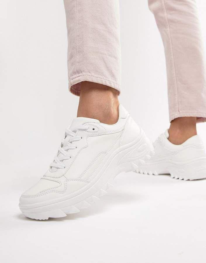 Chunky sneakers, Sneakers, White sneakers