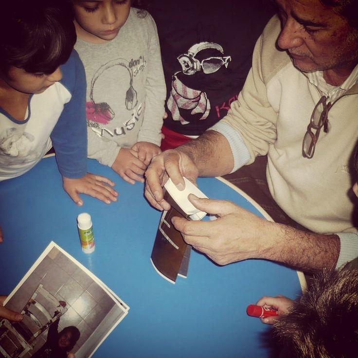 #ecologic #ricicloeriuso Corso riciclo e restauro per bambini. Esperienza indimenticabile!
