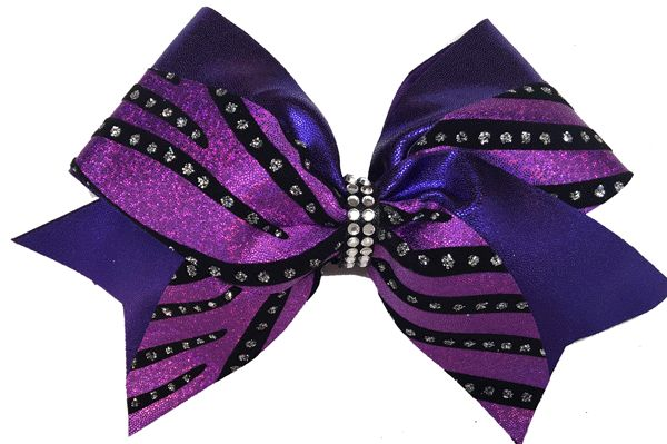 Cheer Bows Etc | Cheerleading Bows - Purple Sparkle Swish Bow , $17.50 (http://www.cheerbowsetc.com/products/purple-sparkle-swish-bow.html)
