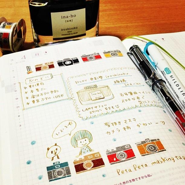 久々のほぼ日手帳。スケルトンLAMYを買いました。ペン先はいつもEFを選びます。 #ほぼ日手帳 #LAMY - @mizutamahanco- #webstagram