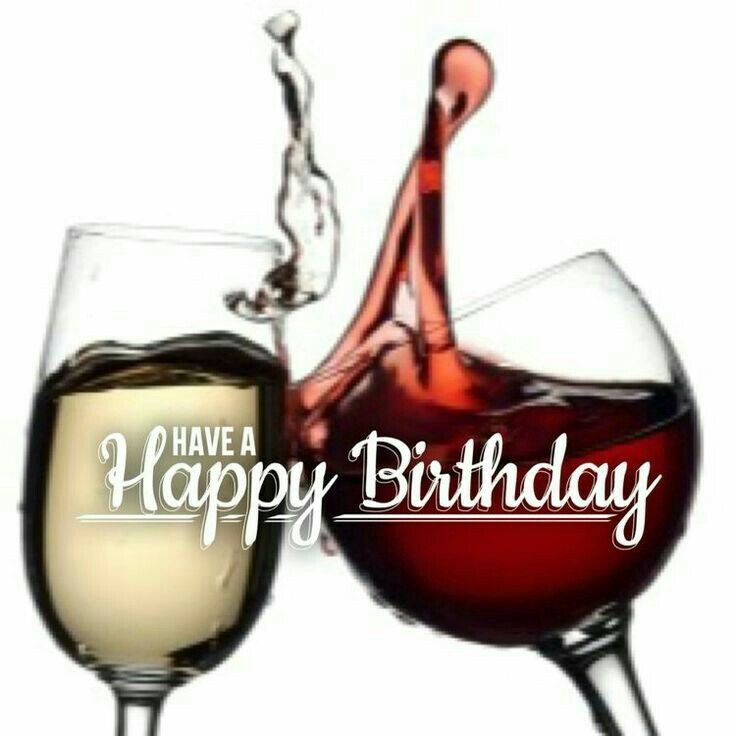 Have a Happy Birthday - wine