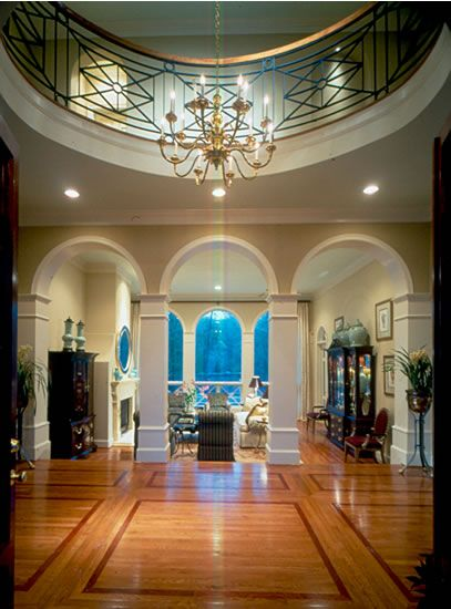 Grand Foyer House Plan : Best foyers and entryways images on pinterest entrance