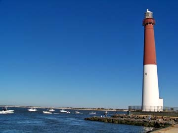 Barnegat Lighthouse Long Beach Island New Jersey Nj Lighthouses Pinterest And