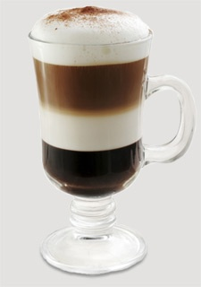 Layered Café Mocha Latte
