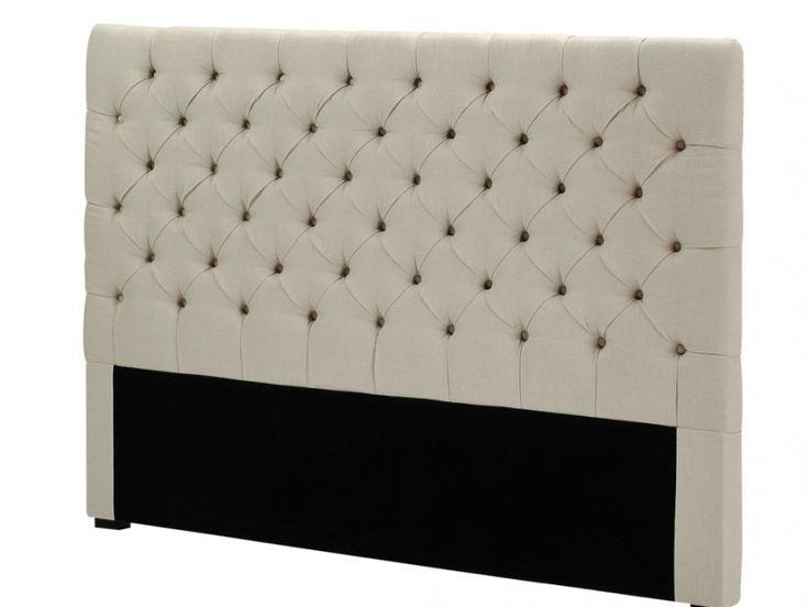 Kopfteil Bett gepolstert Aurele   Breite: 162 cm günstig kaufen
