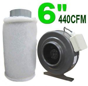 Featuring 100% of the carbon element utilization as well as 190 CFM air flowing rate this combo of 6' Activated Carbon Air Filter & Vortex Inline Duct Blower is to eliminate the odors filter particu...