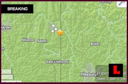 Earthquakes Today 2014: Oklahoma, California, Ohio Suffer Quakes March 10, 2014