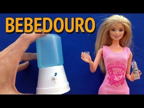 Como fazer Bebedouro/Filtro de Água para Barbie e outras Bonecas! - YouTube