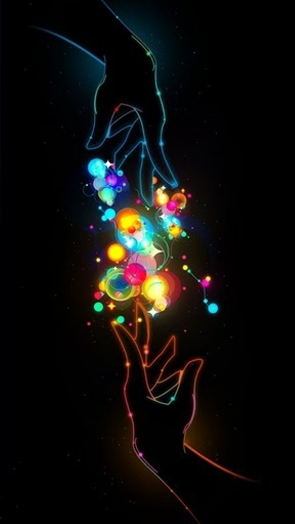 Would make this a tattoo with one hand instead of two representing my reach for the stars. ^_^