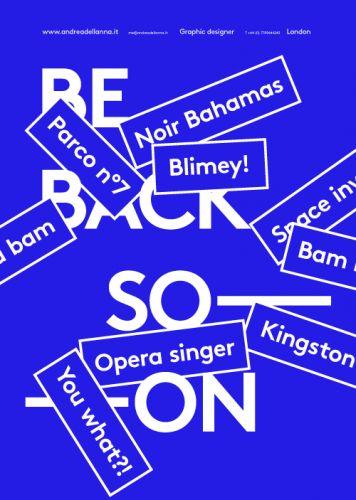 BE BACK SOON  http://www.andreadellanna.it/