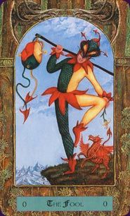 The Fool - Dragon Tarot