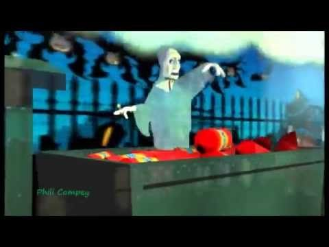 Funny Cartoons - Ghost Train - Cartoon Animation - New Movies - Kids, Gh...