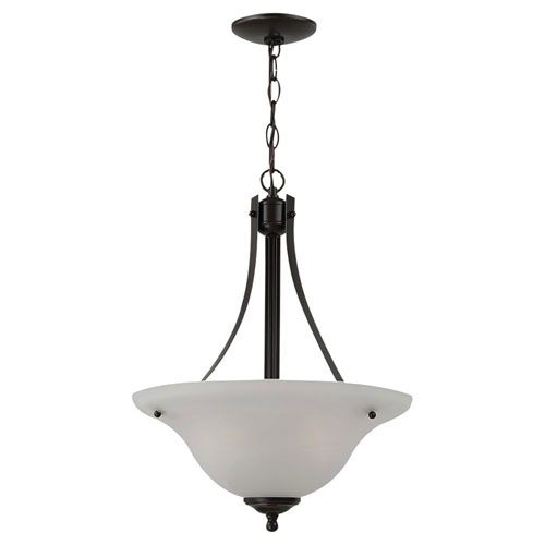 Windgate Two-Light Heirloom Bronze Pendant