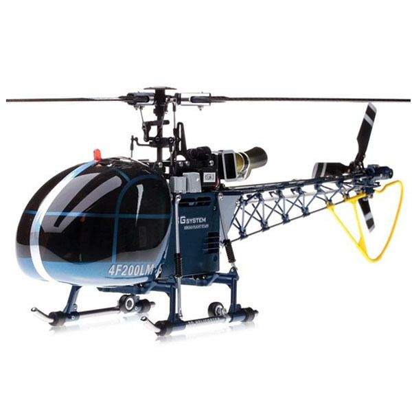 Walkera 4F200LM 2.4GHz 6CH Brushless Three-Axis Gyro RC Helicopter