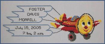 Airplanes - Cross Stitch Patterns & Kits - 123Stitch.com