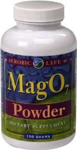 Aerobic Life Mag 07 Oxygen Digestive System Cleanser Powder, 150 Gram by Aerobic Life. $27.99. Acts as a stool softener for those needing this benefit. Act as superior digestive system cleanser and oxygen supplement. The timed release ensures that mag 07 will provide an adequate amount of oxygen, slowly, for better utilization. Mag O7 is a combination of powdered magnesium oxide compounds which have been ounce onated and stabilized to release singlet oxygen over...