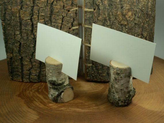 Betulla corteccia rustico tavolo numero 100 di woodenartgallery