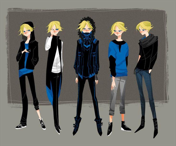 Boomer's variety clothing by MOUCHbart on DeviantArt