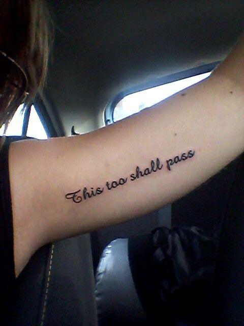 Script font, meaningful tattoo,  arm tattoo