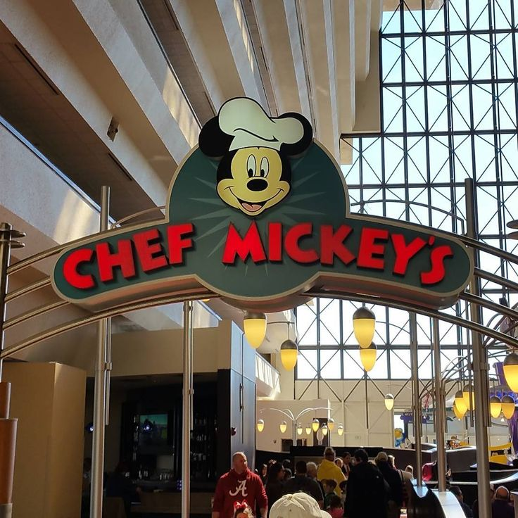 """I got a great question today: """"Why is Chef Mickey's more popular for breakfast than lunch?"""" I think it's because breakfast is less expensive and a lot of people don't want to leave one of the Parks in the middle of the day to go to lunch.  What do you think?  #travel #vacation #familyvacation #waltdisneyworld #WDW #Disney #Disneytip #disneyparks #DisneyWorld #MickeyMouse"""