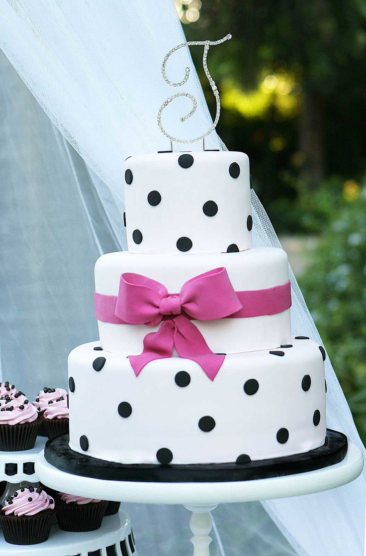 Best 25 Dot Cakes Ideas On Pinterest Polka Dot Cakes