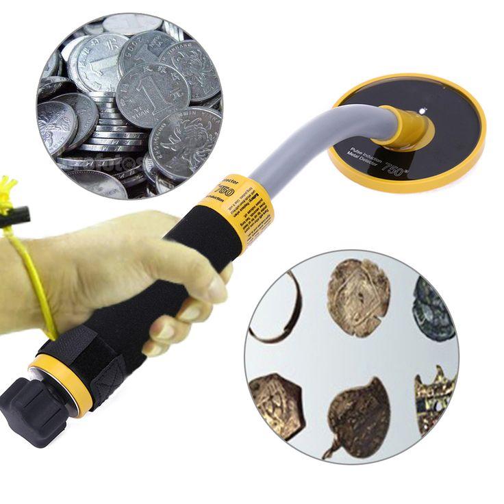 Underground Metal Detector 750 High Sensitivity Waterproof 30m Pulse Induction Metal Detector Stability Vibration Alarm Mode #Affiliate