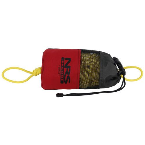 The NRS Compact Rescue Throw Bag is an excellent choice for swift water emergency work. Its compact shape and light weight are perfect for kayakers. Buy online at Big Water.
