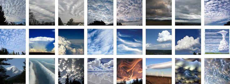 Todos Los Tipos De Nubes Que Hay - http://wow.mx/2015/09/13/todos-los-tipos-de-nubes-que-hay/ - iSi eres curioso, te habrás preguntado porque las nubes tienen ciertas formas a diferentes alturas; o simplemente te han gustado esos extraños nubarrones... Aquí te digo como se llaman y como se ven todos los tipos de nubes!      Ve todas las imágenes de Nubes por su clasificación dando click en leer