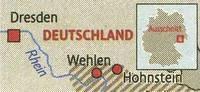 Der Kölner Stadt-Anzeiger hat's aufgedeckt: Dresden liegt in Wahrheit am Rhein!    Foto: Anja Sauerwald