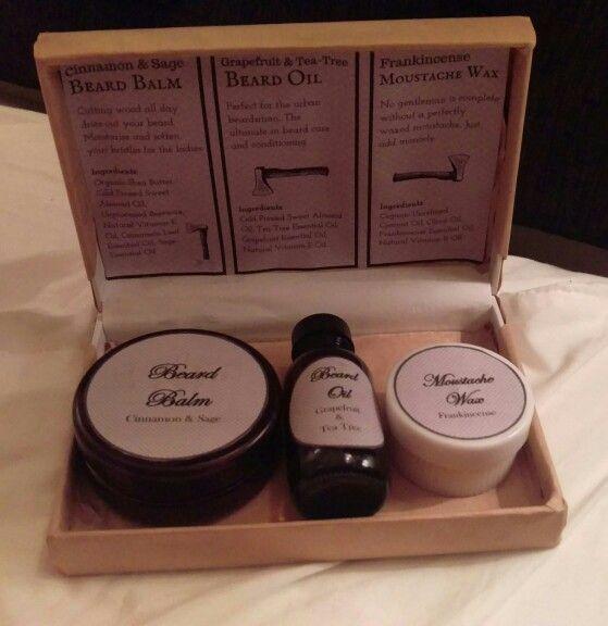 The Essential Lumberjack Beard Care Kit... Handmade by Yanis...