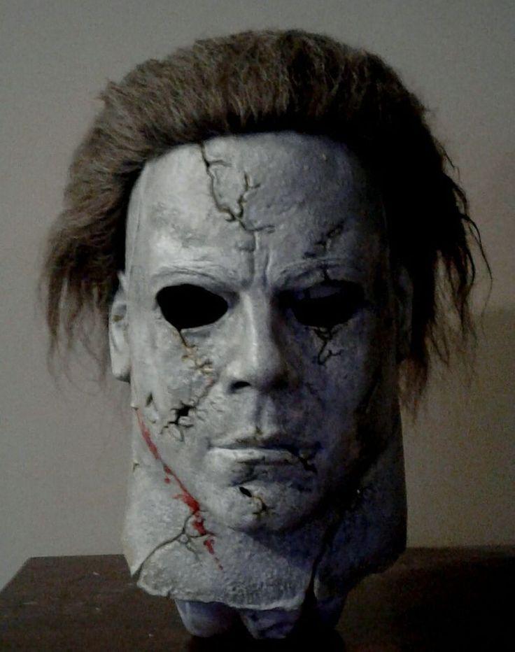 Destroyer michael myers latex halloween mask buried rz rob zombie latex halloween masks - Masque halloween film ...
