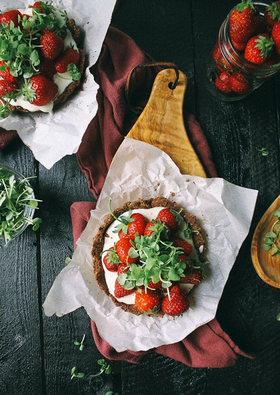 greens gluten free easily adaptable to dairy free basil and strawberry ...