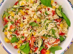 Sommerlich leichter Reissalat (Rezept mit Bild) von Calorine | Chefkoch.de