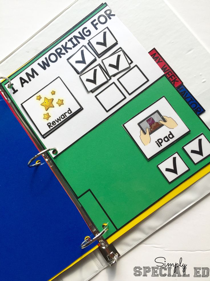 This binder has EVERYTHING your students needs to have a structured day in and out of the classroom. I love that they can carry it everywhere with them and has their token board and schedule! Love it for my autism classroom!