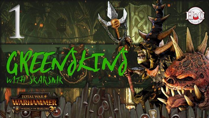 Total War Warhammer Greenskins Skarsnik Campaign 1